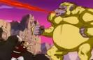 Golden Oozaru mouth ki blast