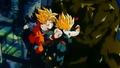 Goten and Trunks VS Bio Broly