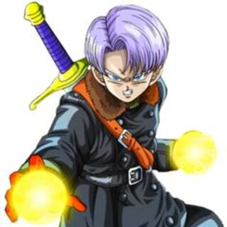 Xeno Trunks in <i>Dragon Ball Xenoverse</i>.