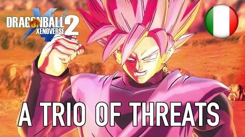 Dragon Ball Xenoverse 2 - PS4 XB1 PC - A trio of threats (DB Super Pack 3 Italian Launch Trailer)