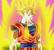 Goku SSJ (Batalla de los dioses)