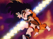 Goku and Raditz killed