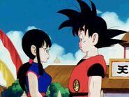 Goku pidiendole matrimoño