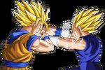 Goku vs majin vegeta
