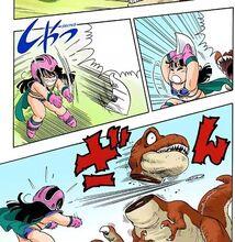 Morte dinosauro manga