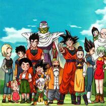 Personajes dbz kai buu saga