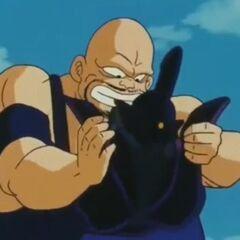 Piroshiki accartoccia la sua maschera per dimostrare la sua forza.