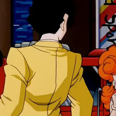 Angela scopre Gohan assieme a Videl sul luogo dell'incendio.