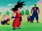 Goku davant Satanàs i Ten Shin