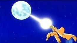 Piccolo distrugge luna