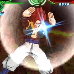 Gogeta Super Saiyan 4.