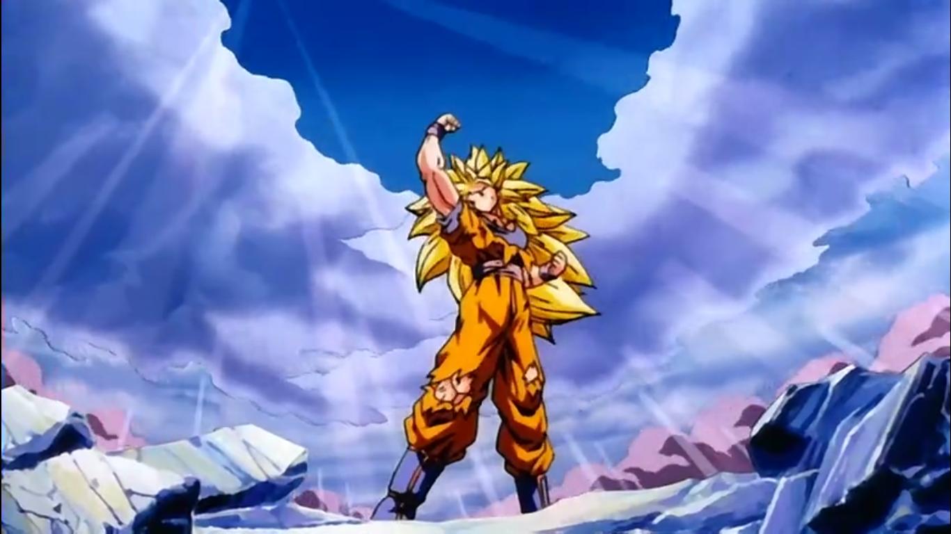 SSJ 3 Goku After Ryu Ken