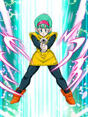 Dokkan Battle Audacious Adventurer Bulma card