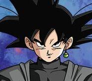 Goku Black ilustración bandai
