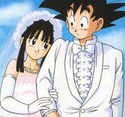 Goku e Chichi si sposano