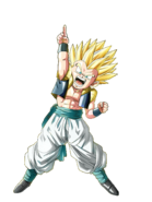 Gotenks SSJ Artwork