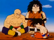 Ten Shin, Yaji i Goku ferit