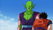 DBS ep88 Piccolo y Gohan desmayado
