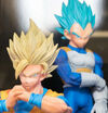 Dragon Ball Super DXF The Super Warriors Vol 5 Son Goku SS2 Vegeta SS Blue Cuadro
