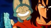 Pual e Yamcha - Dragon Ball La leggenda delle sette sfere