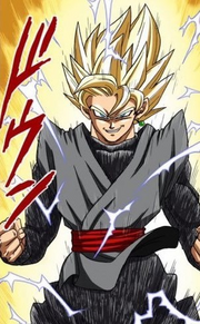 Black Goku Super Saiyan