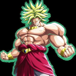 Broly Super Saiyan Leggendario