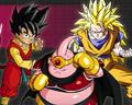DBHero&Majin&SSJ3Goku