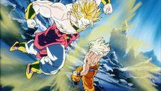 Goku SSJ VS Broly SSJL (2)