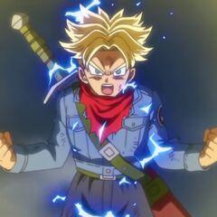 Trunks del Futuro Super Saiyan 2
