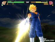 Vegetto Super Saiyayin Atacando En Dragon Ball Z- Budokai Tenkaichi 3