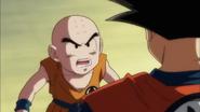 DBS ep92 Krillin enojado con Goku