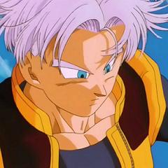 Trunks in Dragon Ball Z, dieci anni dopo.