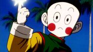 Chiaotzu charges a Dodon Ray
