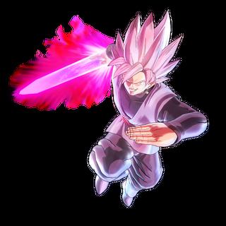 Black Goku Super Saiyan Rosa in Xenoverse 2