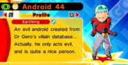 DB Fusions Earthling Android Android 44 (Character Profile)