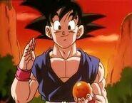 Goku en la pelicula