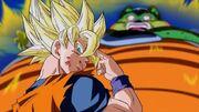 Goku saluta Gohan