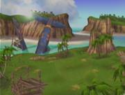Islas tropicales en el budokai 3