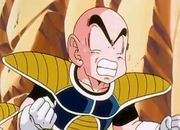 The End of Vegeta - Krillin art error