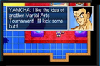 Yamcha likes the Cell Games idea, Legacy of Goku II