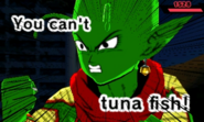 DB Fusions Namekian Uzma You Can't Tuna Fish (Gag Special Move - Pic 2)