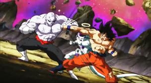 Goku and Frieza vs. Jiren