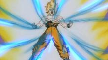 Goku assimile de Genki Dama