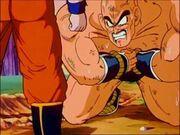 Napa colpito da Goku