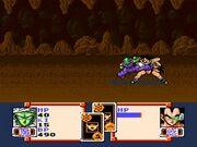 Piccolo atacando Dragon Ball Z Super Saiya Densetsu