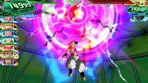 SDBH World Mission Super Attack Dark Vanishing Ball (Xeno Majin Buu's Super Attack)