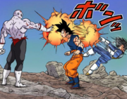 Vegeta eliminated