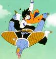 Ginyu Assault - Goku elbow