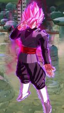 Goku Black Rosado DBLegends