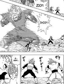 Goku et Vegeta VS Gattai Zamasu